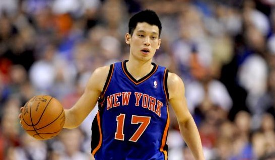 Lin hair with the Knicks