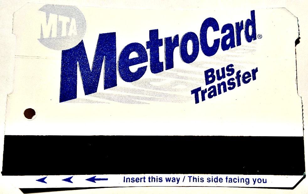 Your MTA transfer doesn't work for bus-to-bus transfers on same route