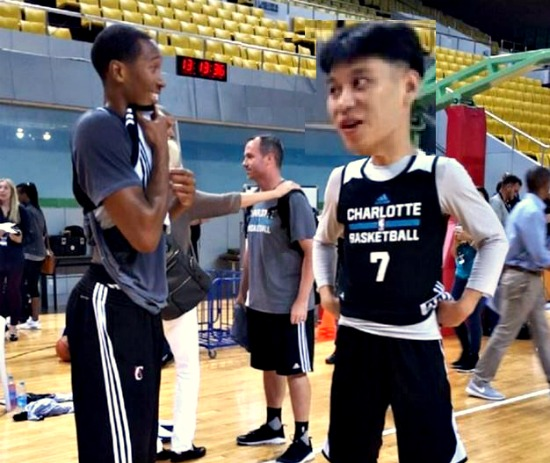 "Yikes! Jeremy Lin sports ""bowl cut"" hairstyle at Hornets practice"