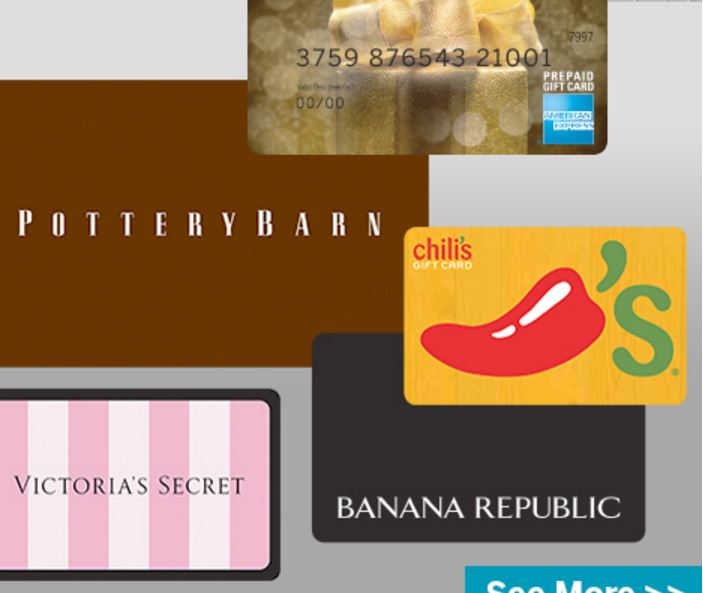 American Express 2015 sale: 20% off gift cards from select retailers