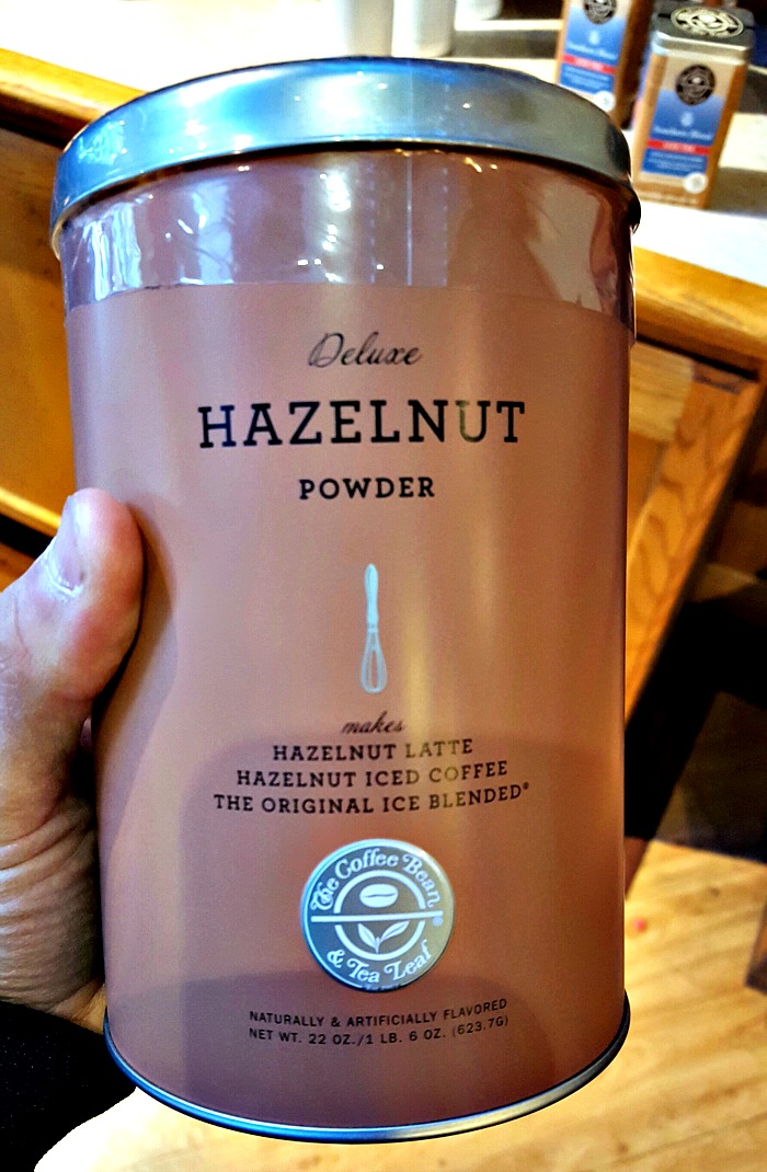 Coffee Bean & Tea Leaf's addicting hazelnut powder now available to buy in-store