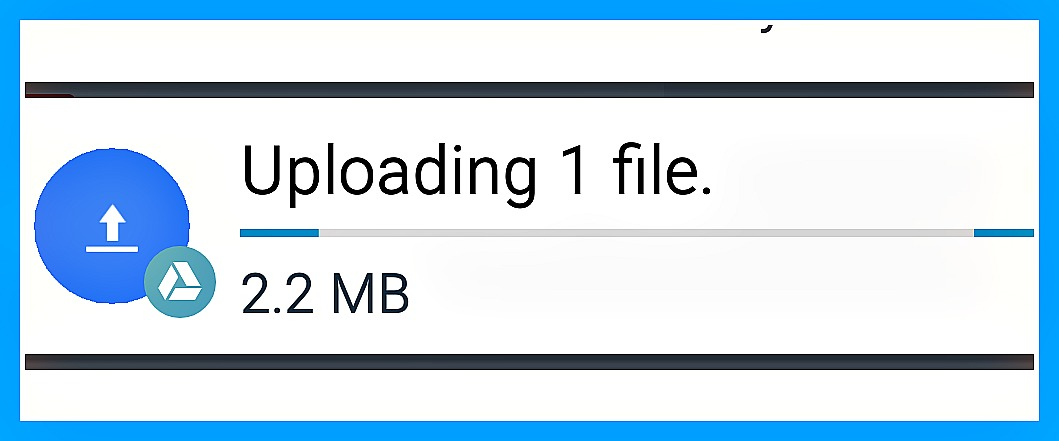 "How to stop continuous Google Drive ""uploading file"" notification on Android phones"
