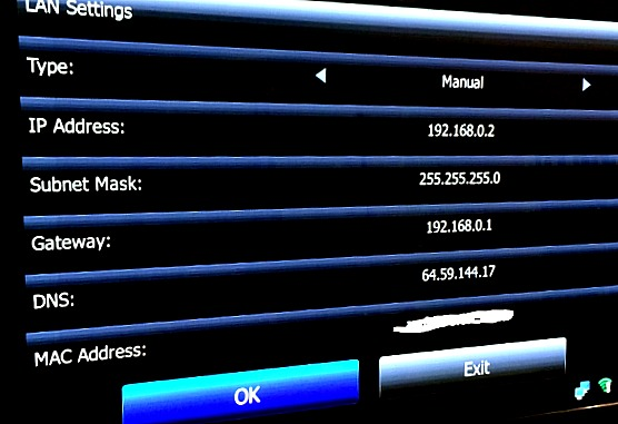 How to change the DNS on TVPad