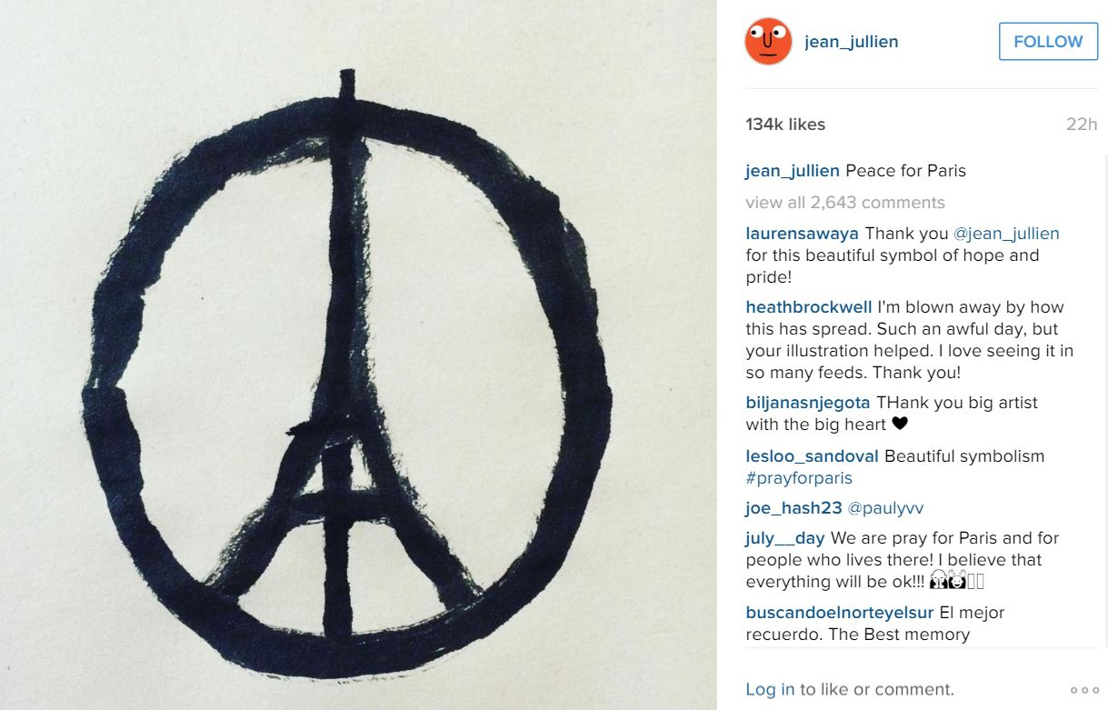 peace sign eiffel tower for paris sketch instagram