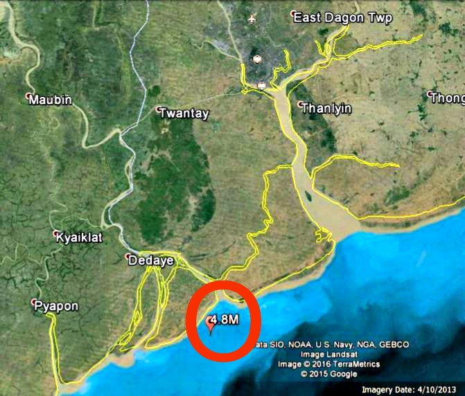 Myanmar 4.8 earthquake on January 12 knocks out power to Yangon