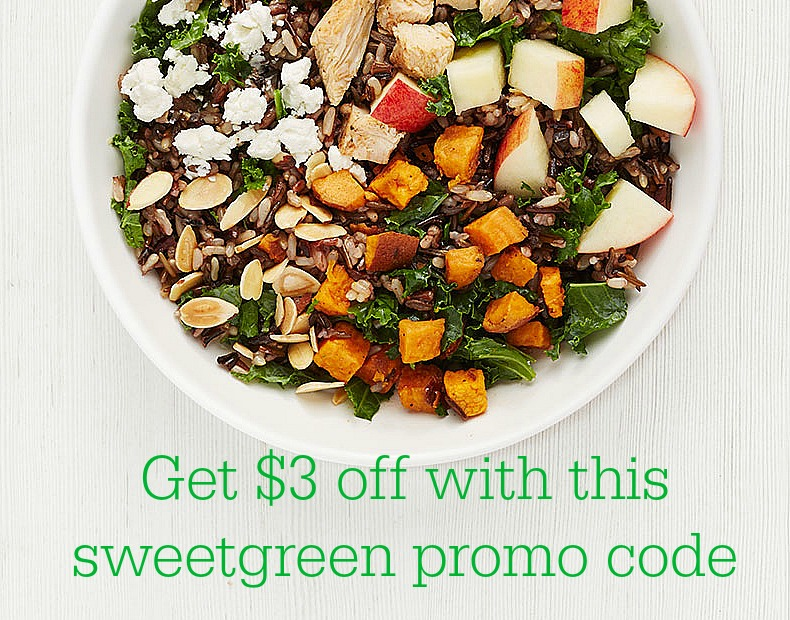 This sweetgreen promo code will get you $3 off your salad