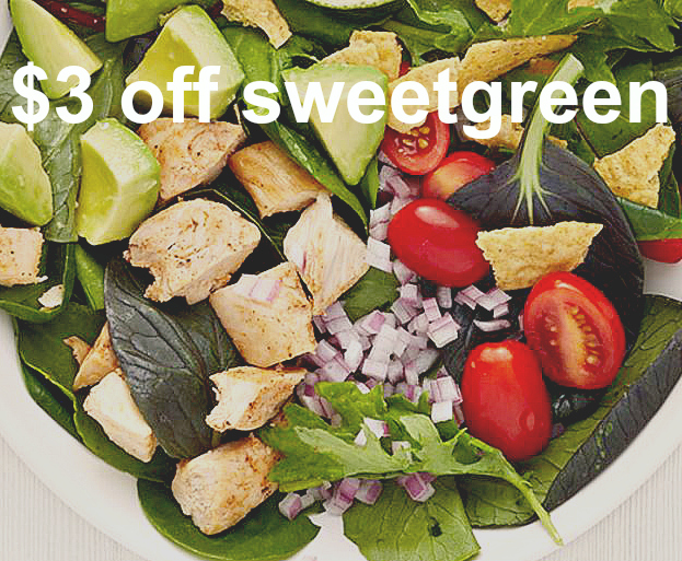 Get $3 off your sweetgreen order with this referral code