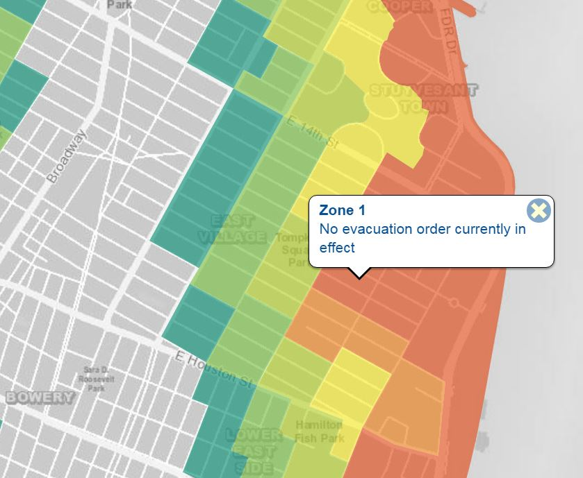 "What does ""NYC storm zone 1"" mean to me?"