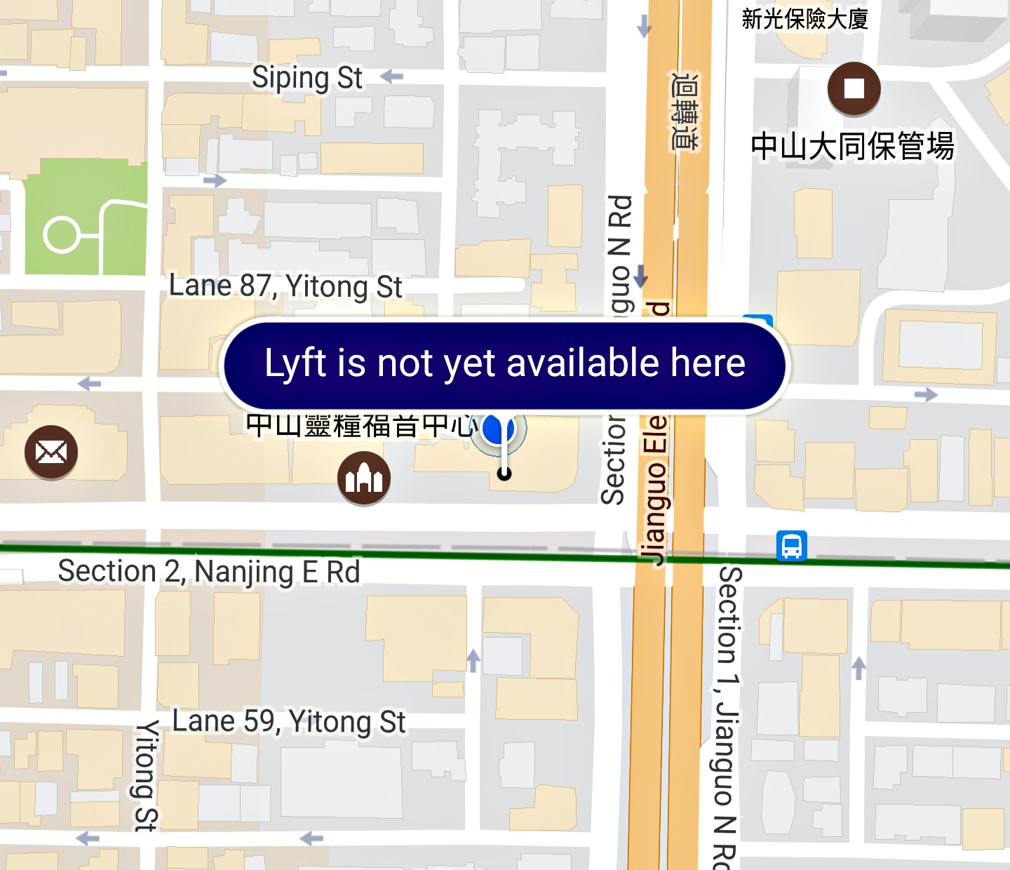 Update: Is Lyft available in Taipei, Taoyuan or anywhere in Taiwan?