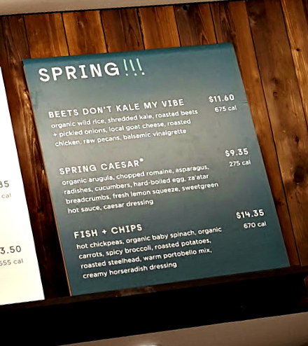 Sweetgreen launches 2017 Spring Menu with Spring Caesar and Fish & Chips