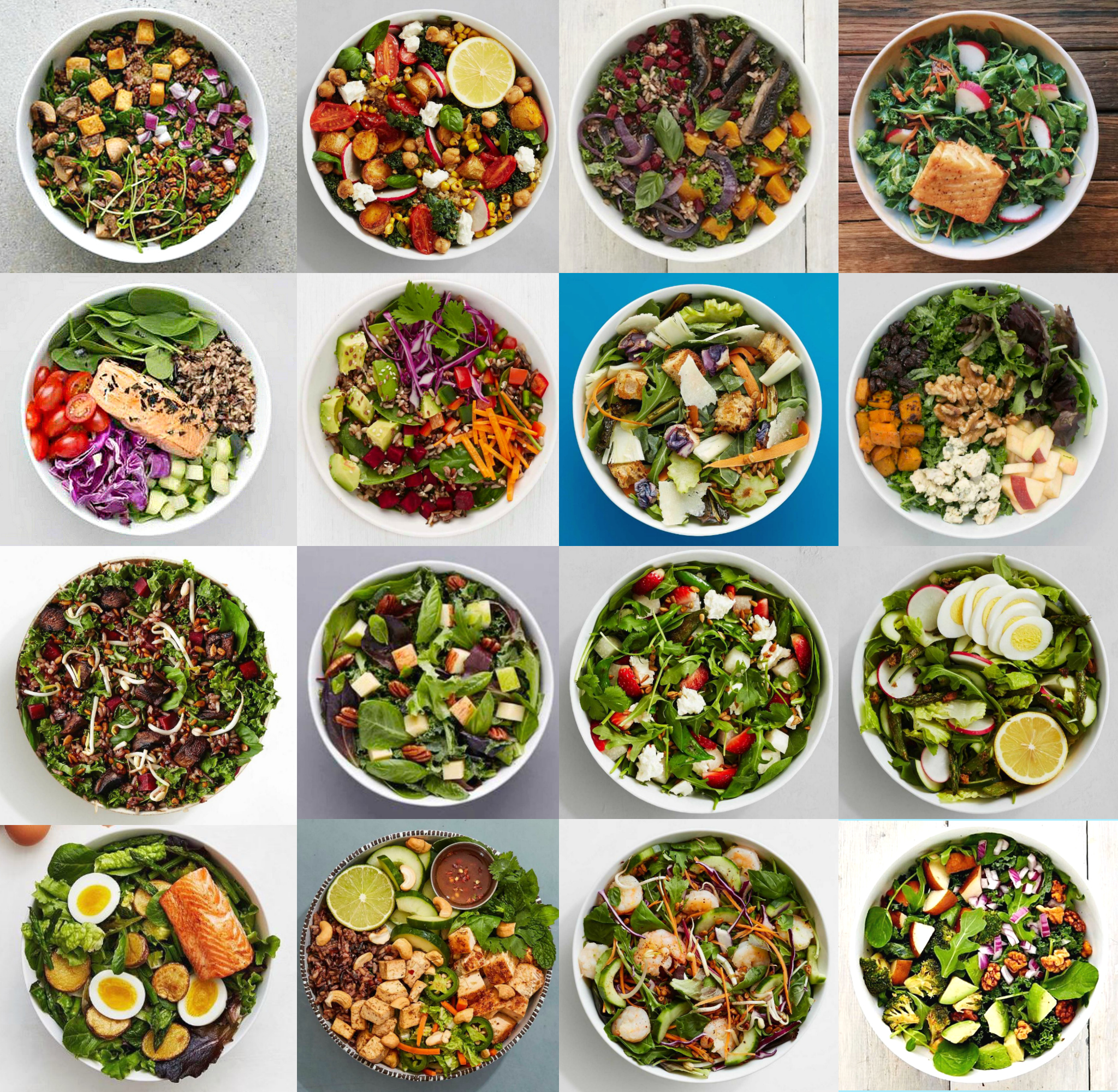 Here's 18 super healthy sweetgreen salads that are around 500 calories (part 1)