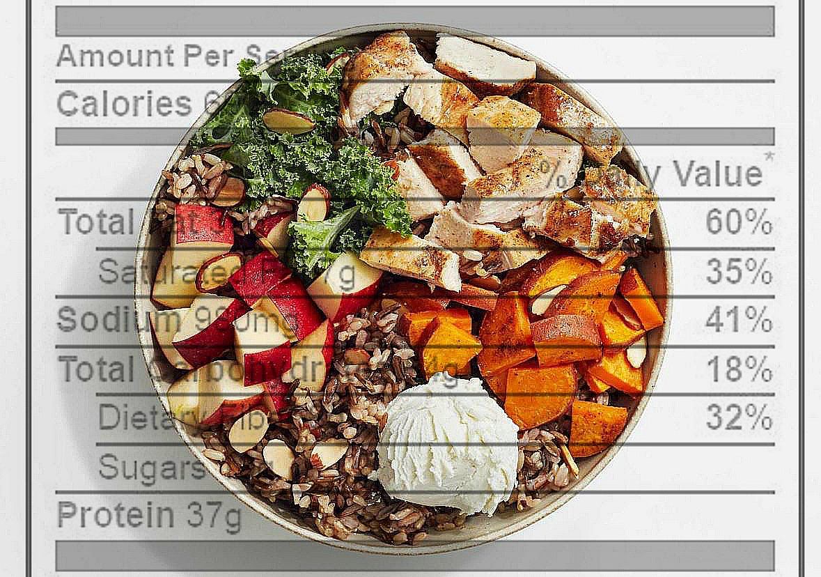 How many calories are in a Harvest Bowl from sweetgreen?