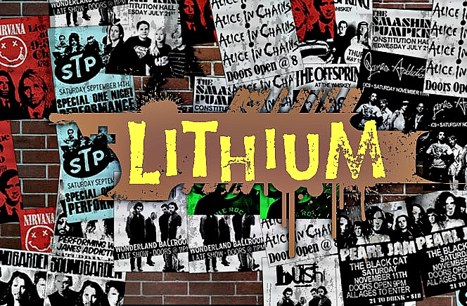 The full list of Lithium's top 100 alternative + grunge songs of '90s