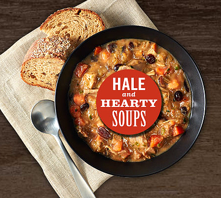 The Hale and Hearty promo code good for $2 discount off soup (2017)