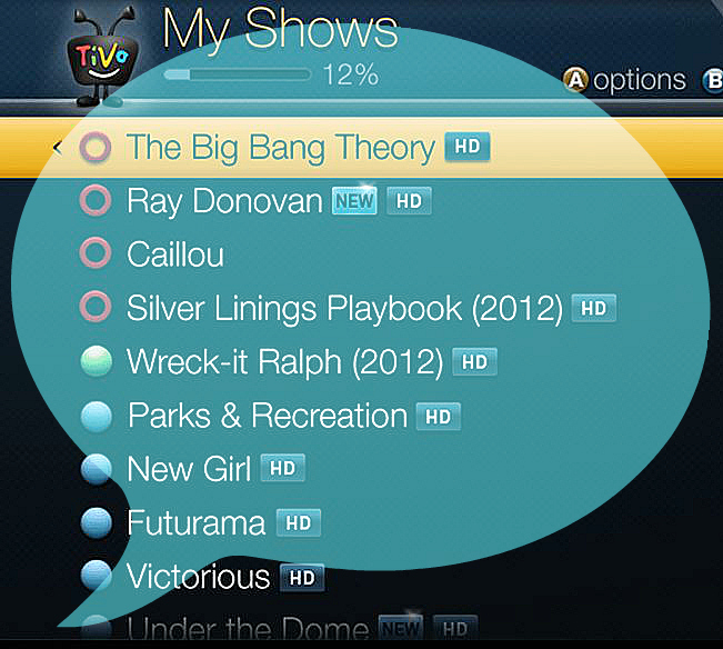 Why the hell is my Tivo reading everything on the screen? (and how to turn it off)