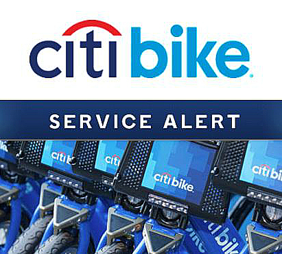 Removal of 14/B Citi Bike valet station causing capacity problems in East Village