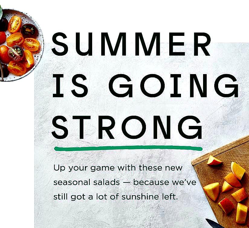 """Sweetgreen announces their """"Late-Summer"""" menu with Thai Watermelon"""