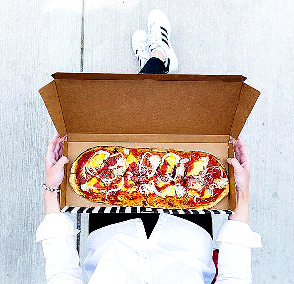 Yes, &pizza is giving away free pizzas via an Instagram Sponsored Ad