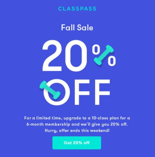 The 25-Second Trick For Classpass Discount