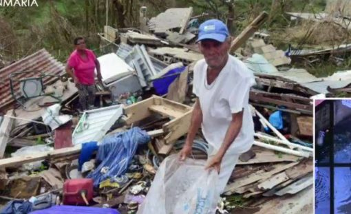 Hurricane Maria aftermath photos of storm damage to Vieques