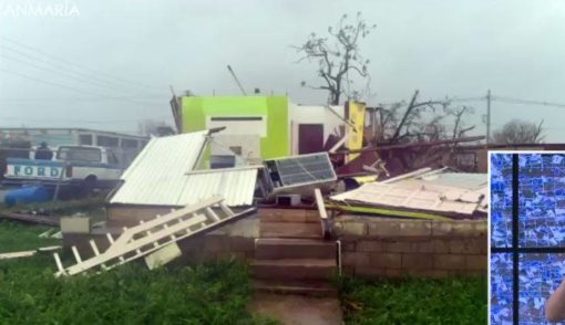 Hurricane Maria photos of storm's damage to Vieques