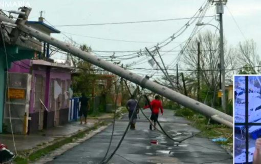 Hurricane Maria images of storm's damage to Vieques