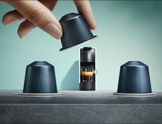 Nespresso is running a one-day promotion for 20% off their pods when you buy 8 sleeves