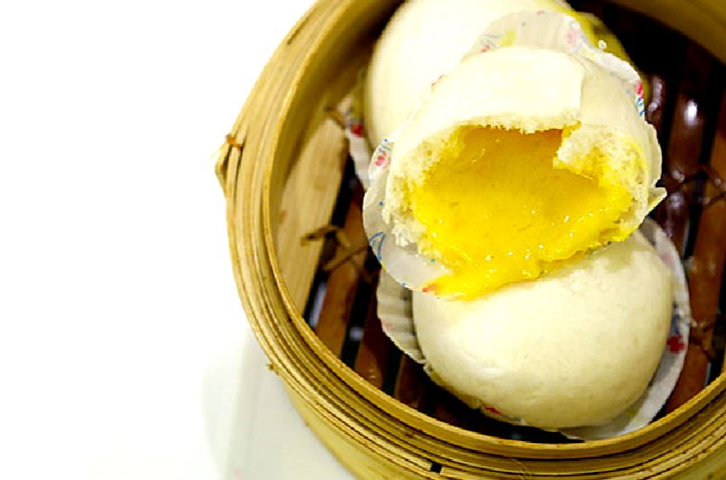 The Liu Sha Bao (流沙包), a.k.a. the molten lava egg custard bun, is your new favorite dim sum item
