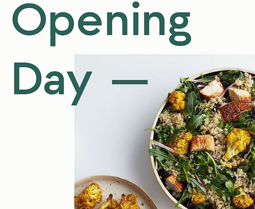 Grand Opening: Second sweetgreen location in Union Square opens today