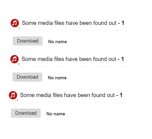 "What is the ""some media files have been found"" pop up I keep getting?"