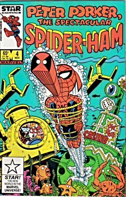 Remembering the awesomeness of the Spider Ham (Peter Porker) comic books