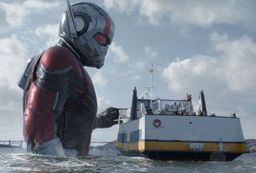 'Ant-Man and the Wasp' was only okay, until the mid-credits scene