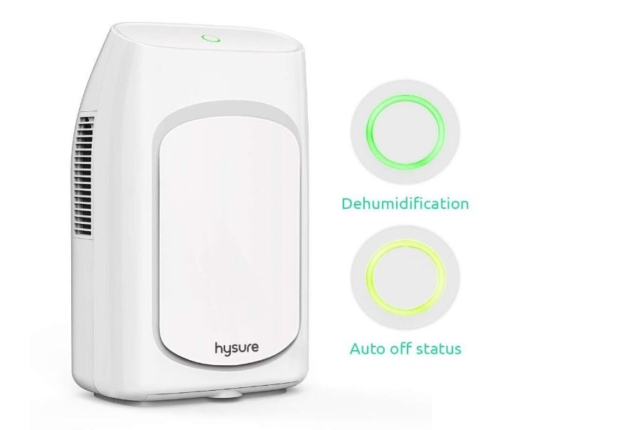 Review of the Hysure Dehumidifier with 2000ML water tank