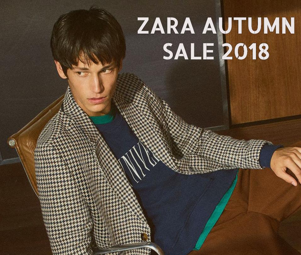 It's Autumn! So when does Zara's fall sale start in 2018?