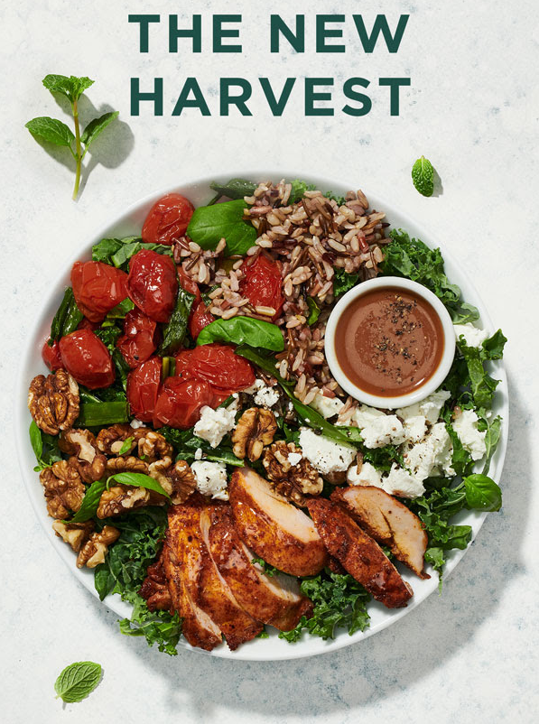 Sweetgreen updates their Harvest Bowl