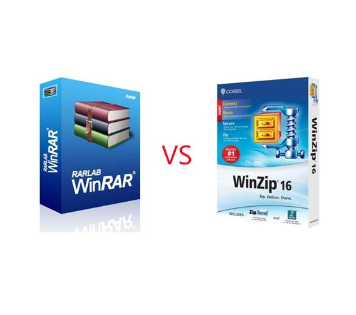 WinZip vs WinRAR: A comparison of benefits, differences between the file compression tools