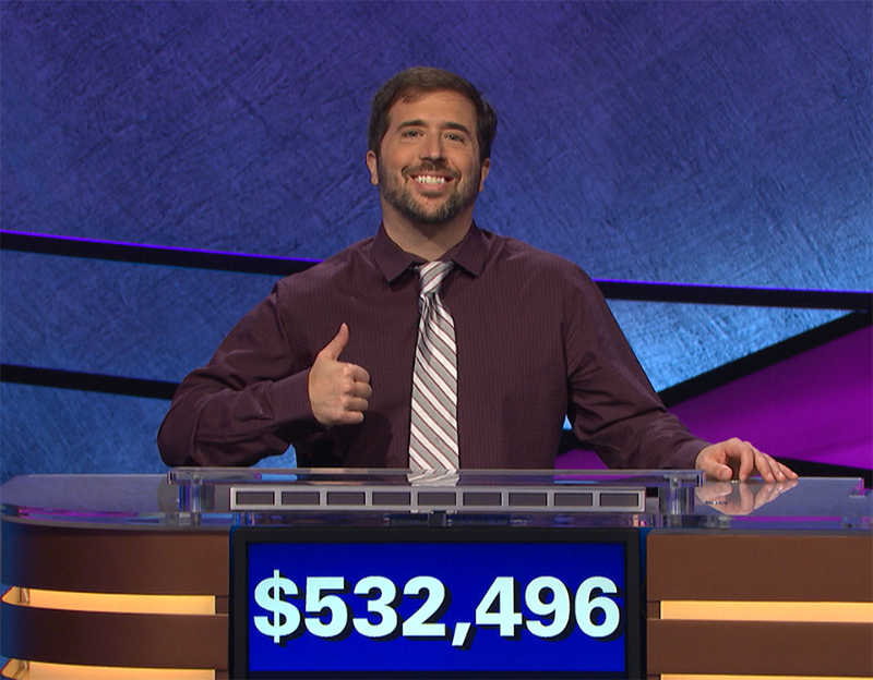 Jason Zuffranieri's 19-Game Winning Streak makes him one of Jeopardy's all-time biggest winners