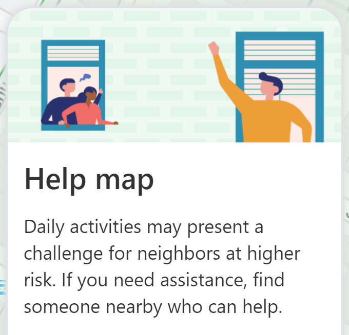 "Offer assistance to elderly neighbors during COVID-19 pandemic with Nextdoor's ""Help Map"""