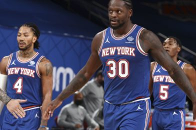 So the New York Knicks made it to the NBA playoffs, so what's next?