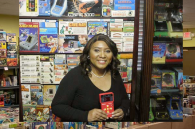 Woman sets two world records for collecting more than 4000 vintage games