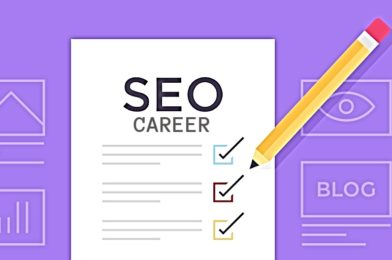 Here's a few tips if you're considering a career in SEO