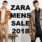 When are the Zara sale dates in 2018 (Spring/Summer, Fall/Winter)?